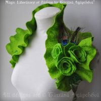 LA FEE VERTE Absinthe Shrug by TianaChe
