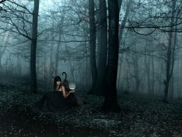 ...in Forbidden Forest by BabbLeE