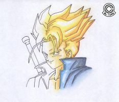 Super Sayajin Trunks by Trunks777