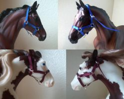 Breyer Horse Halters For Sell by BookThief17