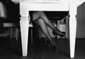Under the table by Thalee1982