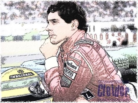 Ayrton Senna Draw by appelt65