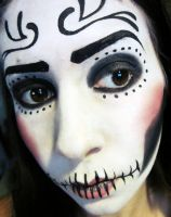 Day of the Dead Simple by InkIsMyPassion