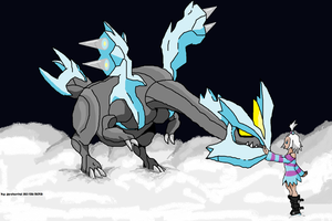 kyurem and hiedra by javierini