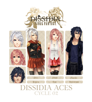 Dissidia Aces Cycle 2 by Aureta