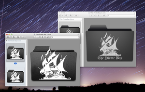 [2] Pirate Bay Folder Icons by frankmareno