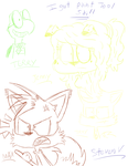 Paint Tool Sai Sketches by RugratsFan2012