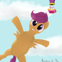 Cutie Mark Crusaders Skydivers Yay by Acceleron