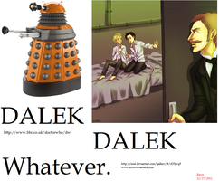 Clash of the Canons: Dalek means WHAT now? by stopthattimerave