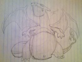 Charizard by naruto3ever