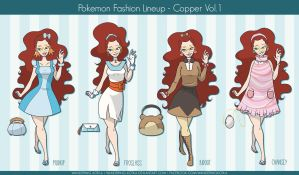 Pokemon Fashion with Copper - Volume 1 by wandering-kotka