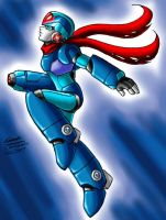 X's silver mask: Hi-Jump by Megaman-X-Community