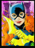 Batgirl Colored by steelcitycustomart