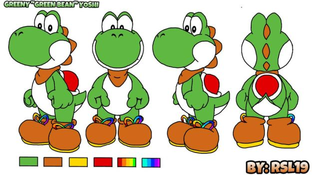 Greeny Yoshi Concepts including Palettes by Greeny-Yoshi-RSL19