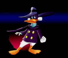 Darkwing Duck ever serious by UncleLaurence