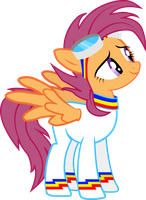 Scootaloo- Rainbolt Flight Suit (older) by Karson-Rotek