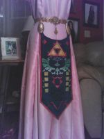 OoT Zelda Cosplay WIP by BleachcakeCosplay