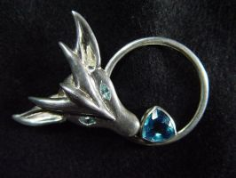 Dragon Brooch by StephaniePride