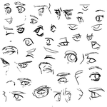 Eye styles by TheLabBook