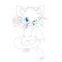 WHITE CAT by Alien-Feline