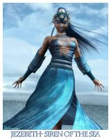 Jezebeth- Siren of the Sea by DesignsByEve