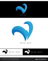 water logo by graphstas