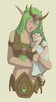 Vera and Her Child by CrewOfTheBloodyDawn