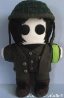 Frank Iero Ghost of You Plushie by Plushie-O-Matic