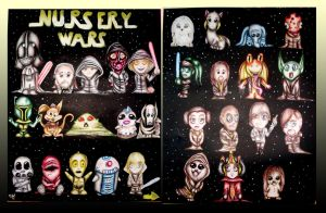 Nursery Wars by neecolette