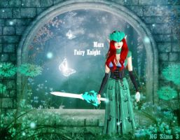 Fairy Knight Mars - TS3 Sims Model by ng9