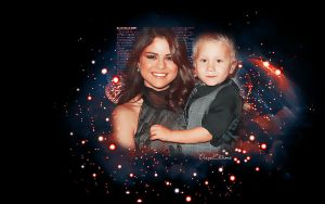 +Wall Selena and Jaxon by DianaaEditions