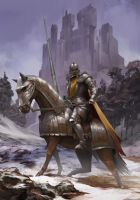 The Knight of Asnardak by ilkerserdar