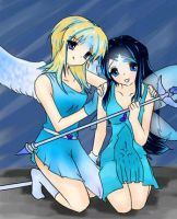 Esme and Charlotte by FlawlessInnoncence