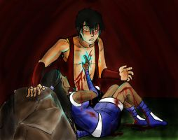 Zutara Week: Blood by Avearia
