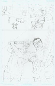 No Man's Land page 10 pencil by JAM32