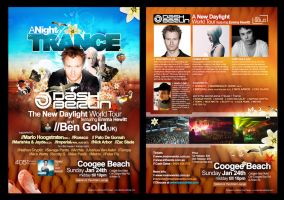 A Night Of Trance Flier by scottrichardson