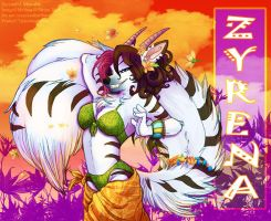 Tropical Badge - Zyrena by frisket17