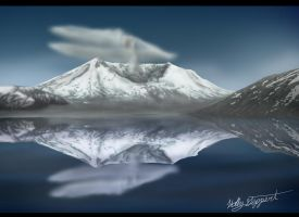 MT ST Helens by XBlackIce