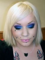 FOTD - blues and purple by roxy-rouge