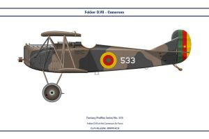 Fantasy 533 Fokker D.VII Cameroon by WS-Clave