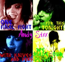 Andy Sixx - Knives And Pens by VivaLaAmber
