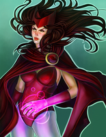Scarlet Witch by daPatches