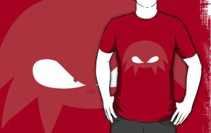 Knuckles T by RobbanFoxer