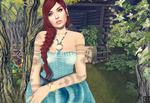 SL: There's A Secret Garden She Hides by CryssieCarver