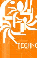 Techno Poster 6 by wastingtape