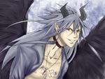 silver haired horny guy XD by prince-di-caos