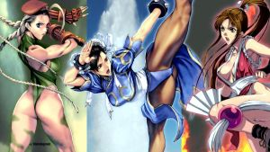 CCM - Cammy Chun-Li Mai by wahdegreat