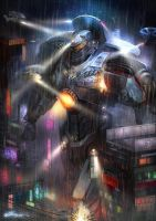 PACIFIC RIM-Gipsy Danger's by JUNLING