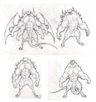 201 more muscle creatures by krigg