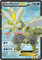 TheAlphaRanger Fake Cards: Kyurem EX by TheAlphaRanger